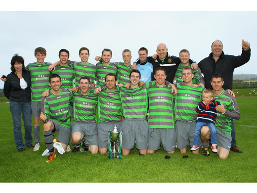 St Ola - Parish Cup Winners 2013