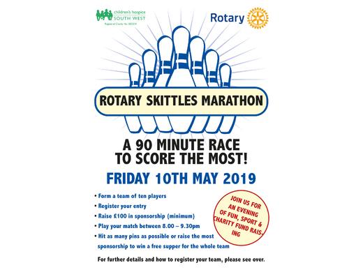 Rotary Skittles Marathon Night