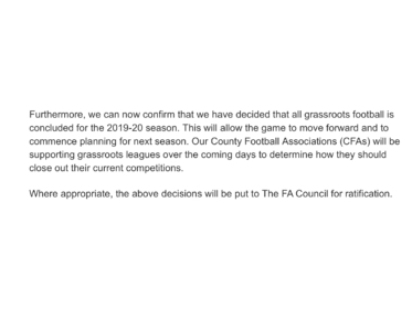FA Statement