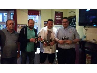 2015-16 DIVISION-ONE RUNNERS-UP THE RPAS CLUB