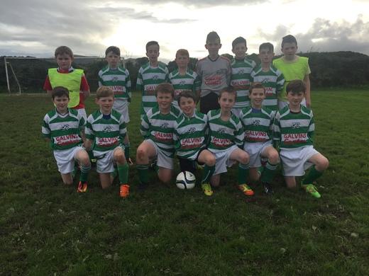 Dunmanway Town U13 squad 2016-17