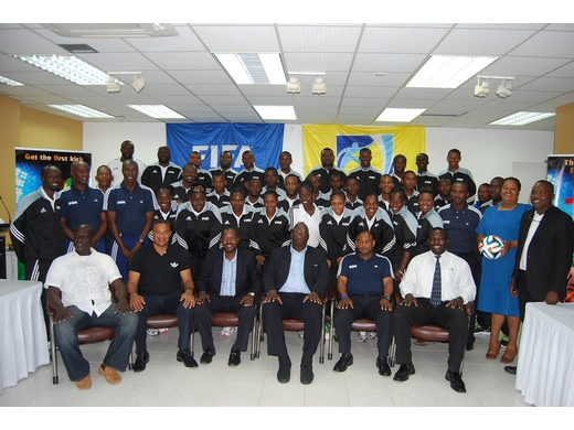 GFA concludes  week long Training workshop for Referees and Assistant Referees