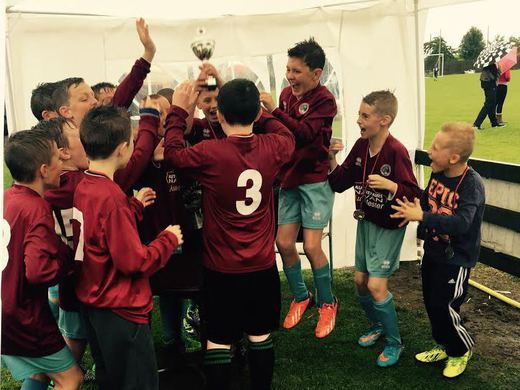 U12 Bellurgan Tournament winners 2015