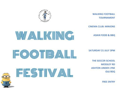Walking Football Festival