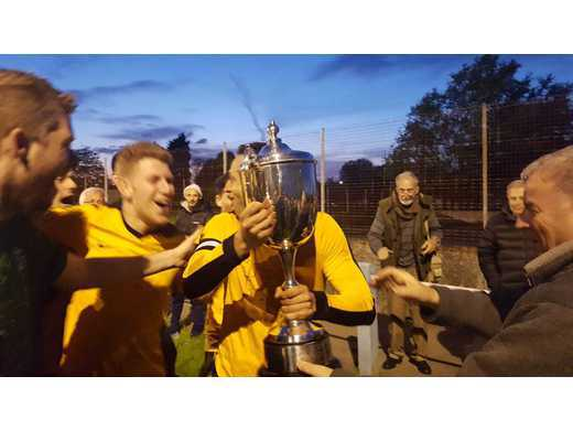 Trophy Lift - Shonn Cup Final 2017-18
