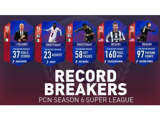 PCN Record Breakers