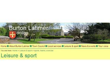 Burton Latimer online header