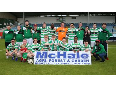 Castlebar Celtic B - McDonnell Cup Winners 2017