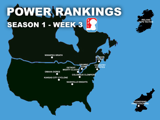 Open Division Power Rankings - Week 3