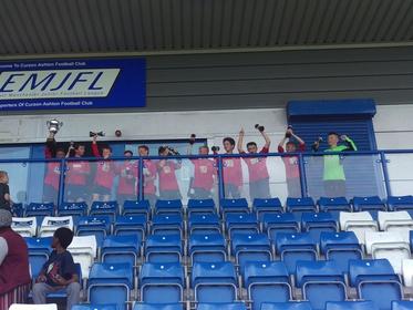 MAJFC U12 Reds EMJFL Championship League Cup Winners 2018