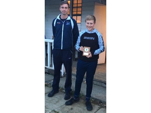 Fri 6 Sep: U13s Most Improved Player