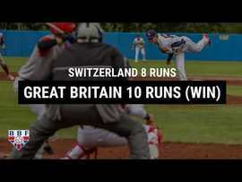 Mon 8th July results - GB Baseball U18 win at Euro Qualifier Pool 1 in Sweden