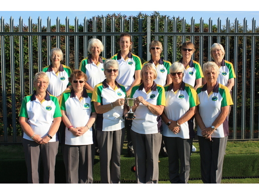 Martham ladies win the Ladies Malta Cup, just by 1 point over Gorleston Links