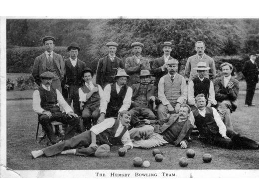 An early Hemsby Bowls Team.
