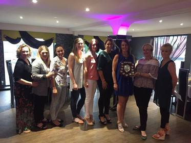 Division 1 runners - Stafford Ladies- 2017