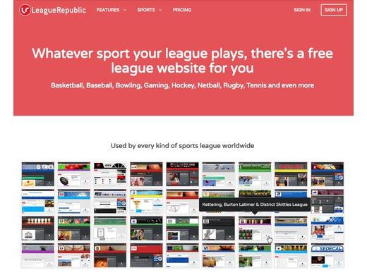 League Republic feature our site