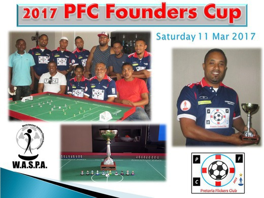 BEVIN REED WINS THE 2017 FOUNDERS CUP