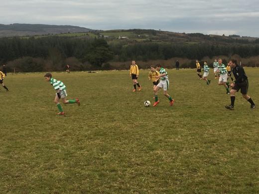 Togher Celtic v Lyre Rovers - U14 PL - Dec 2016
