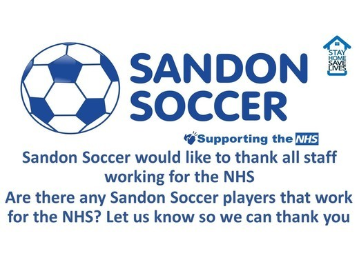 Thank you to all NHS Staff
