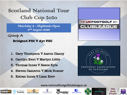 Scottish National Tour Cup 2020