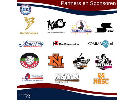 Partners en sponsoren NK Little League 2019