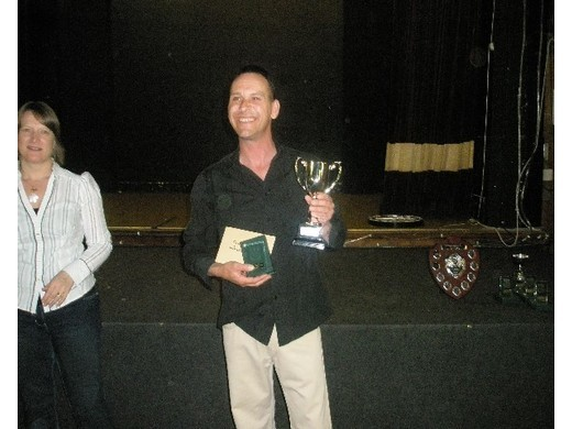 2008/9 Singles Champion - Mick Smith