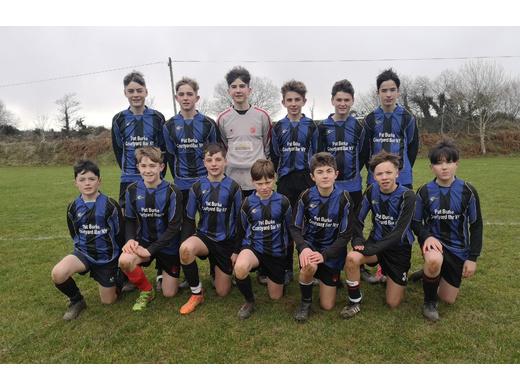 Bunratty United U14 - 2019 U14 Cup runners-up