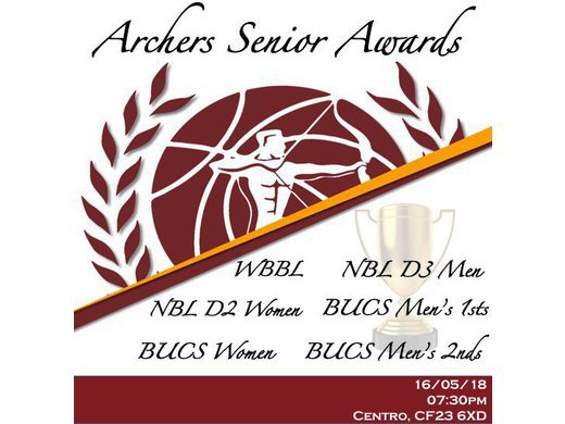 Archers Senior Awards