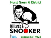 The Hurst Green Billiards & Snooker League Logo