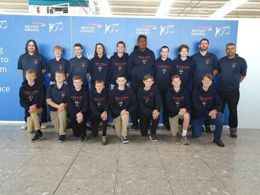 Great Britain Baseball U15 Team competes at the Hardball City Tournament in Germany