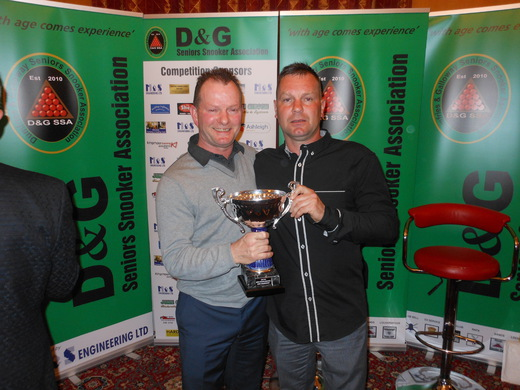 Pairs Champions; Roy and Musky Handley