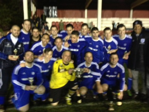 2012-13 Leeds Maccabi 2nd (Tony Cohen Winners)