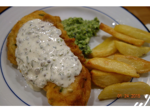 Fish, chips and quiz night