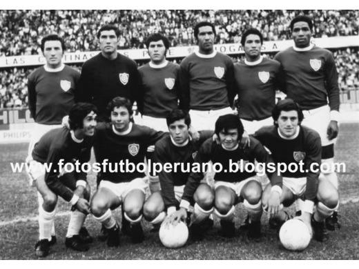 Sexto lugar Primera División 1972.