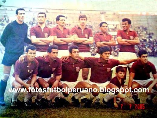 Cuarto lugar Primera División 1967.