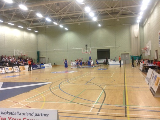 Scotland U14 Girls 54-65 Northern Ireland U14 Girls