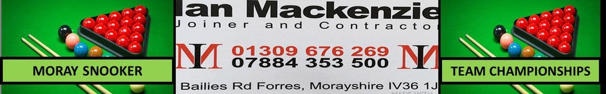 Moray Snooker Team Championships