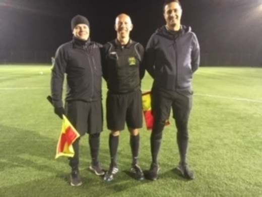 Match Officials - Darren Rose Trophy - Nov 19