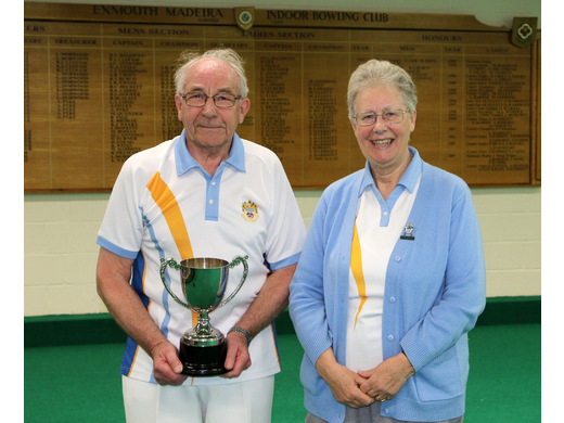 Bob Walker - Mens Singles runner up - 2019