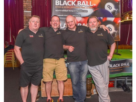 Committee left to right :- Vice Chairman Andy Robo Treasurer Pete Youd Chairman Steve Hunt Secretary Dave Atherton