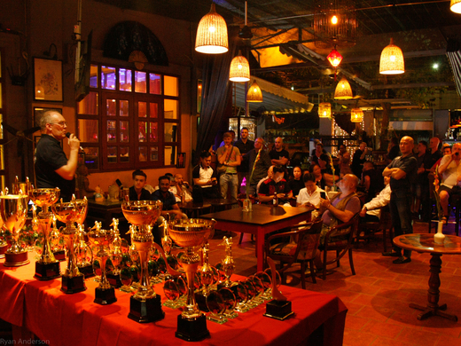 Saigon Pool League Presentation Night - 3rd October from 6.30pm @ Evita Bar