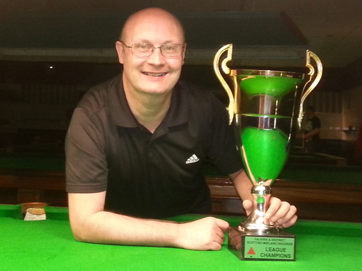 Matt Hodgins Wins 2013/14 Falkirk & District Snooker League Championship!!