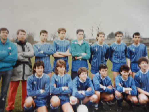 1986-87 Sunnybank Celtic (Bank Hapoalim Runners Up)