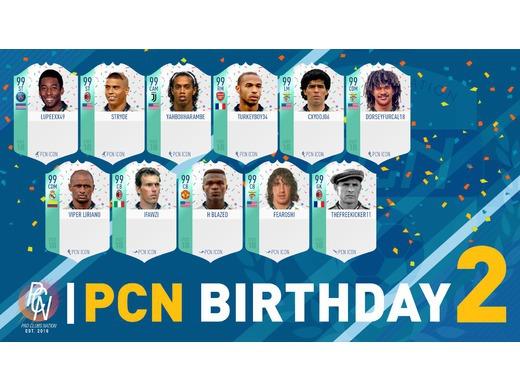 PCN 2nd Birthday Starting XI