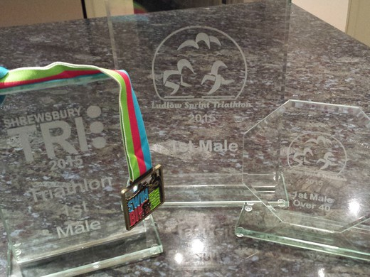 Another win at Ludlow Triathlon