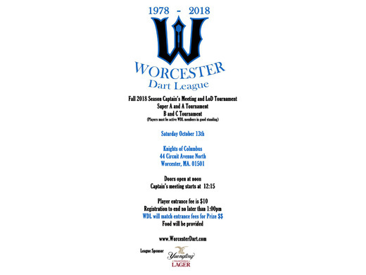 WDL Fall 2018 Tournament