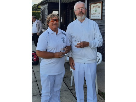 2020 - 2 Wood Mixed Pairs Finalists - Chris Cunningham & Steve Young