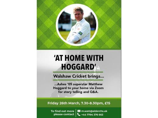 At home with Hoggard