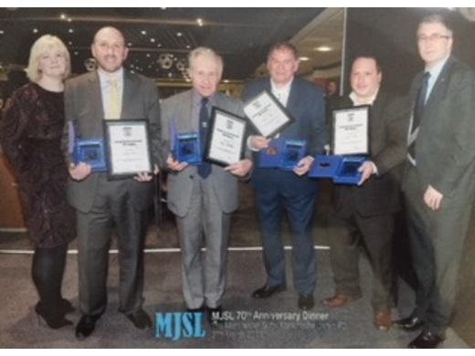 MJSL Service Award Winners