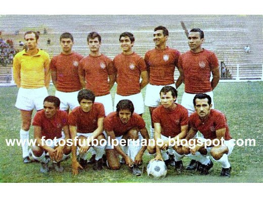 Séptimo lugar Primera División 1969.